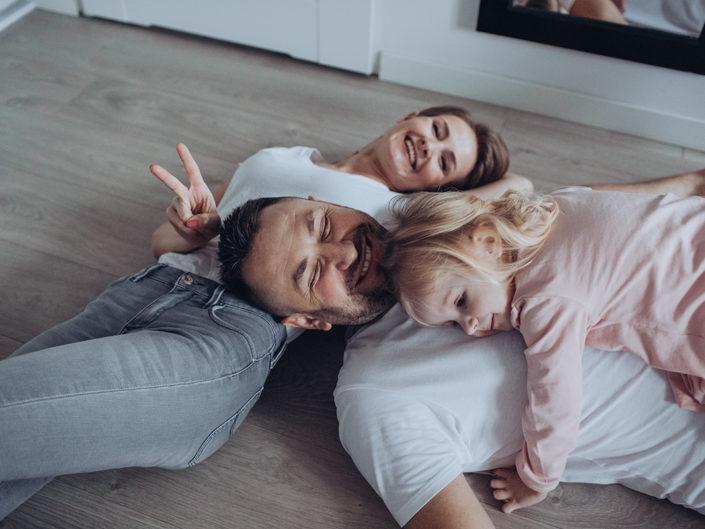 Sesja rodzinna w Waszym domu