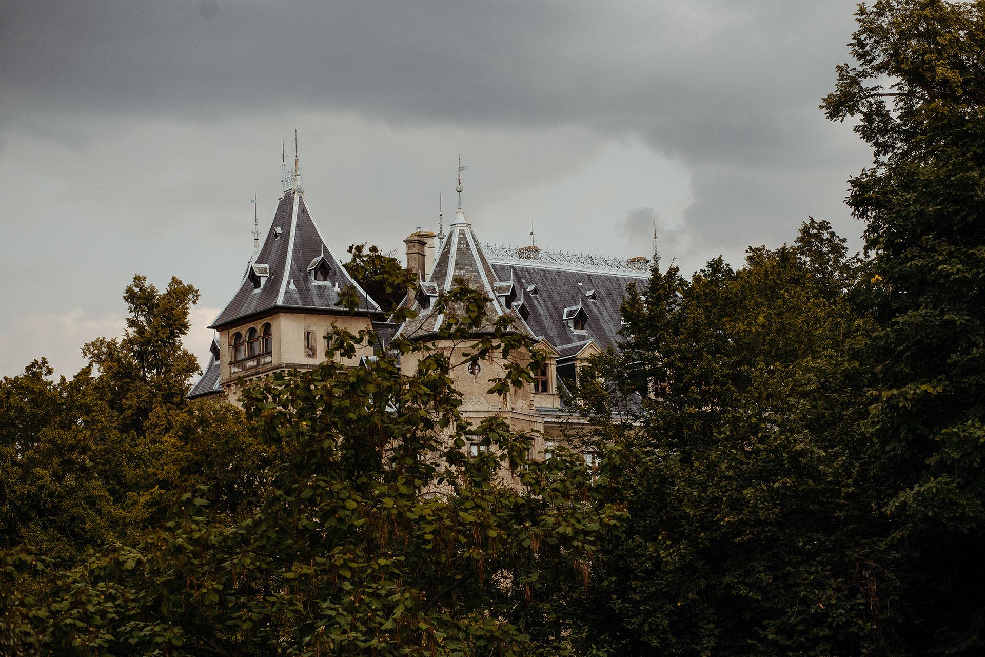 Plener ślubny - Zamek w Gołuchowie